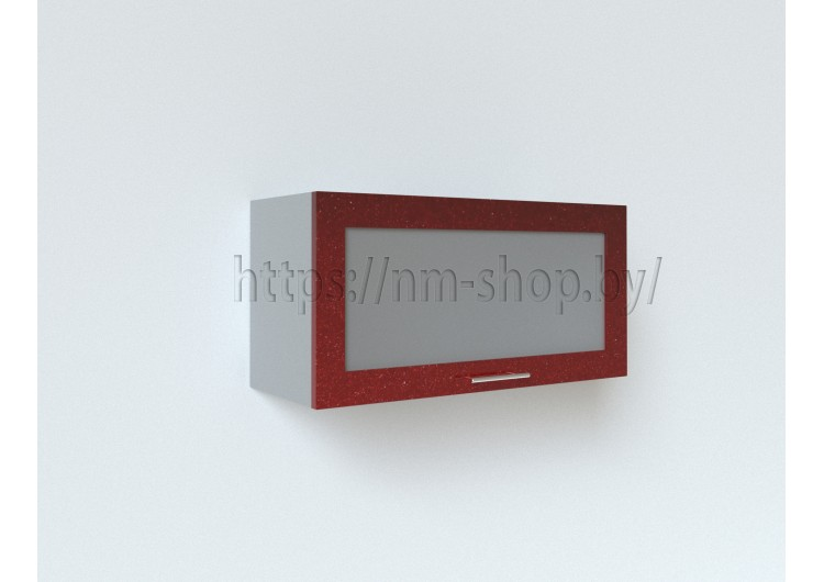 Шкаф верхний горизонтальный стекло ШВГС/ПГС 800