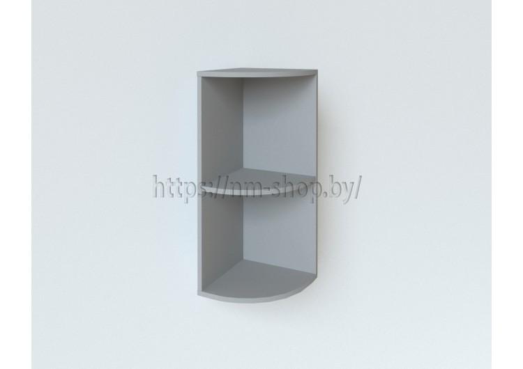 Шкаф верхний торцевой высокий ВПТУ300