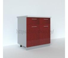 Шкаф нижний 2 ящика ШН2Я 800