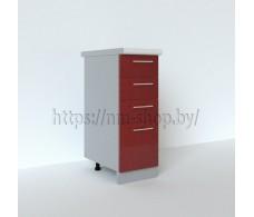 Шкаф нижний с ящиками СЯ 300