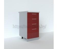 Шкаф нижний с ящиками ШНЯ 400