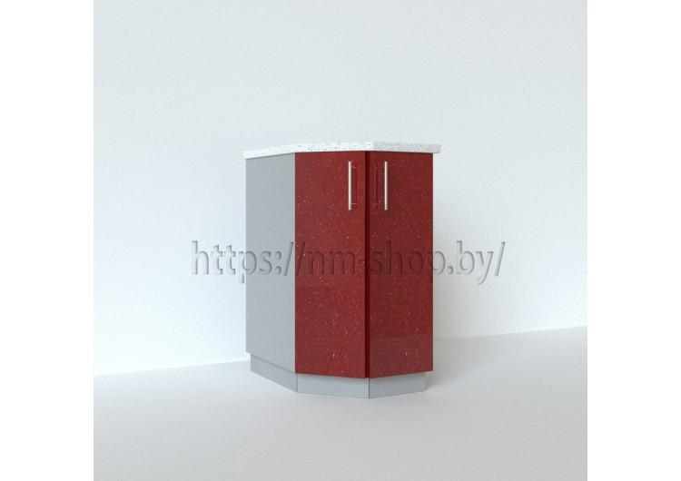 Шкаф нижний торцевой угловой левый СТ 400