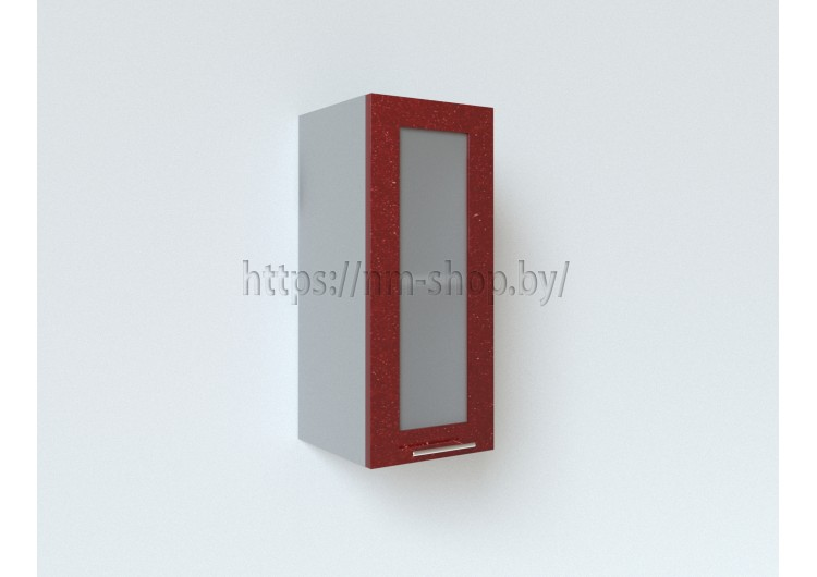 Шкаф верхний стекло высокий ВПС300