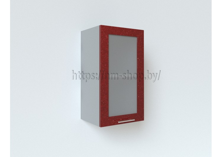Шкаф верхний стекло ПС 400