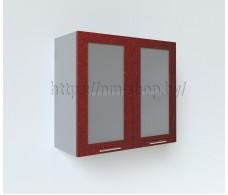 Шкаф верхний стекло высокий ВПС800