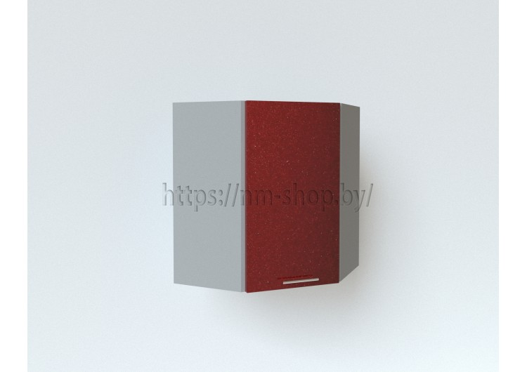 Шкаф верхний угловой ШВУ 550*550