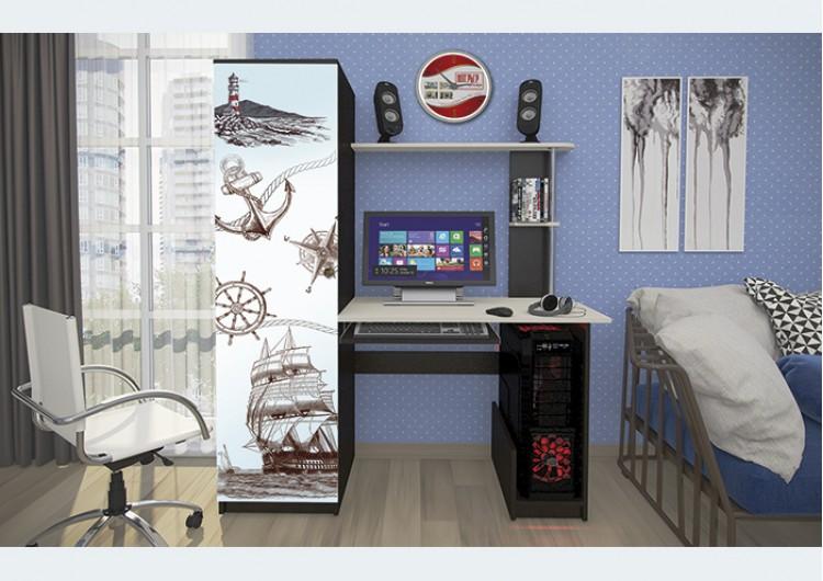 Стол компьютерный КС-001 (фотопечать)