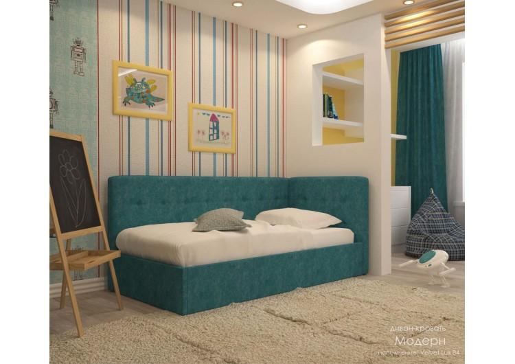 Кровать- диван  Модерн Velvet lux 84