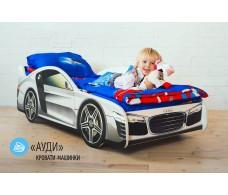 Детская кровать-машина  «Ауди»