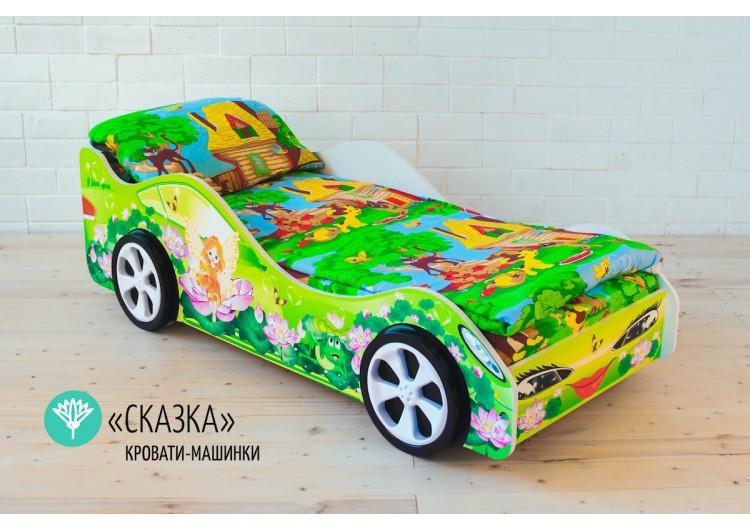 Детская кровать-машина «Сказка»