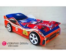 Детская кровать-машина «Пожарная охрана»