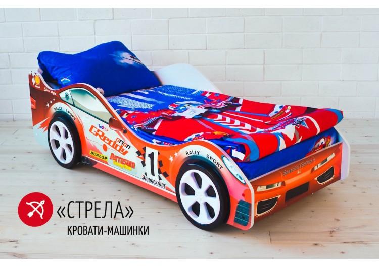 Детская кровать-машина Бельмарко «Стрела»