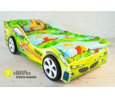 Детская кровать-машина «Вихрь»