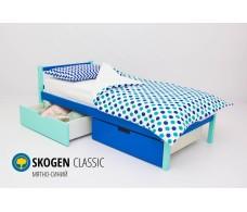 Детская кровать Svogen classic мятно-синий