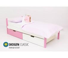 Детская кровать Svogen classic лаванда-белый