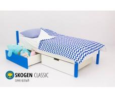 Детская кровать  Svogen classic сине-белый