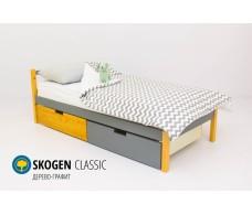 Детская кровать Svogen classic дерево-графит