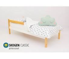 Детская кровать Svogen classic дерево-белый