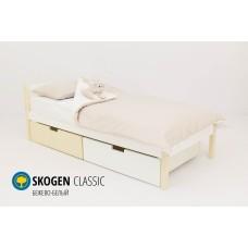 Детская кровать  Svogen classic бежево-белый