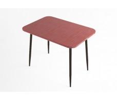 Стол обеденный ДСВ Мебель Титан красный