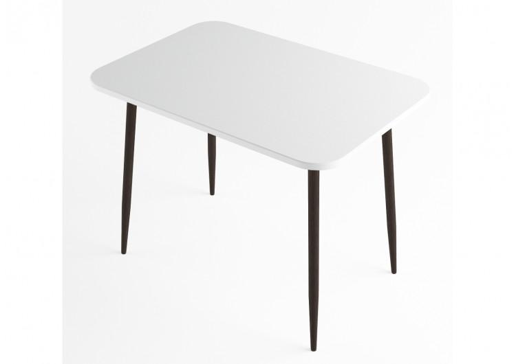 Стол обеденный ДСВ Мебель Белый глянец